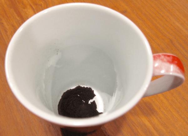 starbucks via coffee in white mug