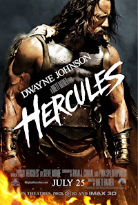 hercules 2014 dwayne johnson movie poster one sheet