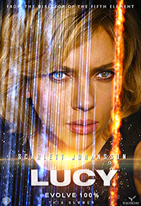 lucy movie - scarlett johansson - one sheet poster