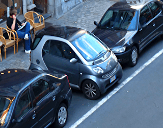 parallel parking, learning and doing