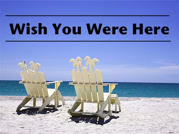 wish you were here vacation equality program - chairs on a beach