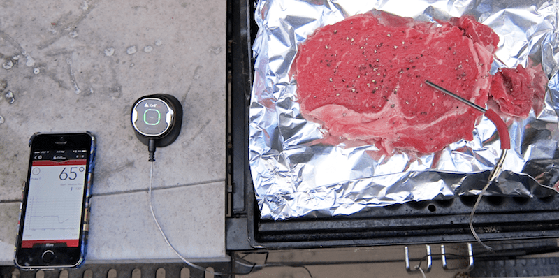 iGrill Mini from iDevices, remote bbq cooking bluetooth thermometer