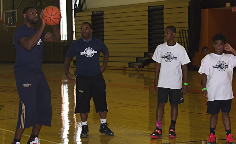 tyreke evans takes the shot, chester high school