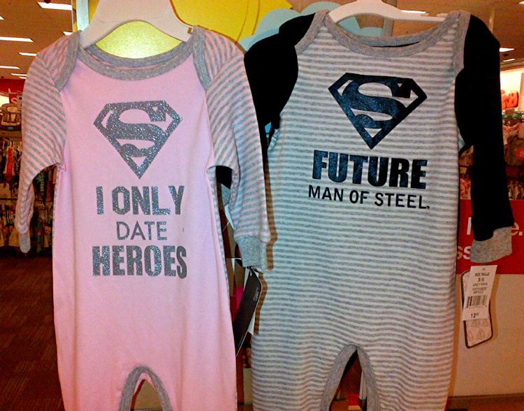 sexist onesies from Target