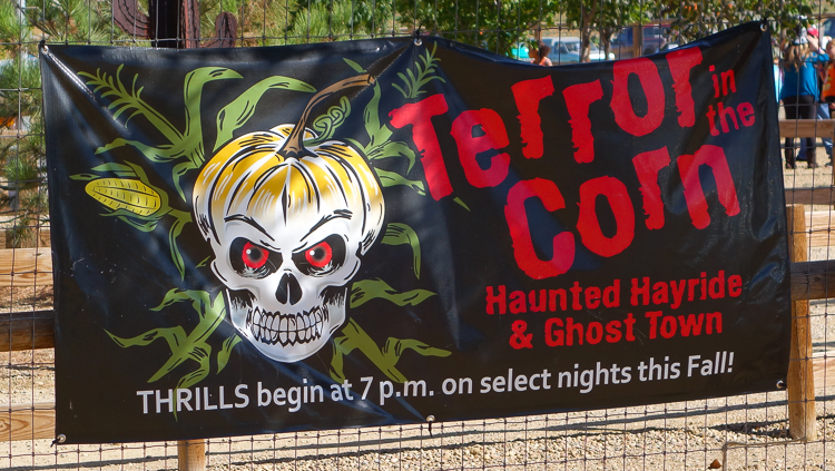 anderson farm terror in the corn sign