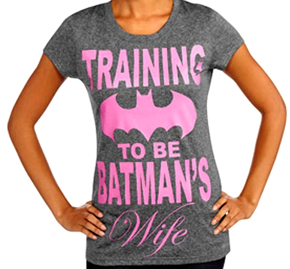 training to be batman's wife