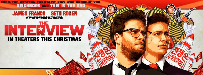 the interview movie banner
