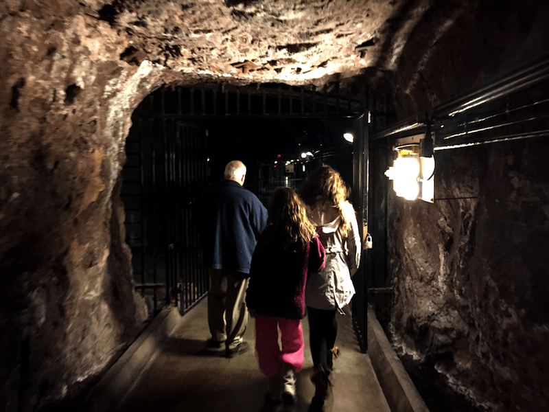 exploring the tunnels in boulder hoover dam
