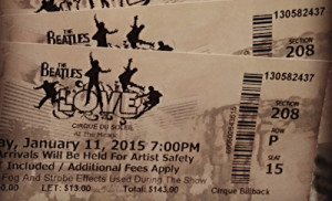 cirque beatles love tickets
