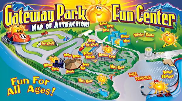 gateway fun park, boulder co map