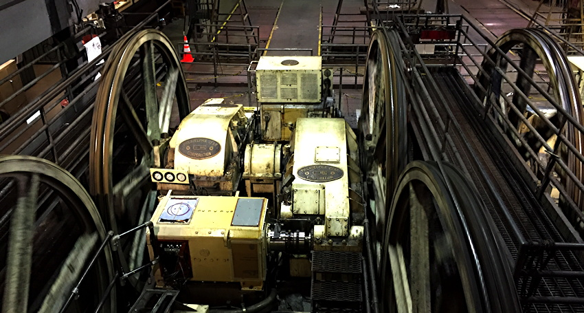 cable-car-gearing-system