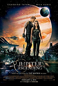 jupiter ascending channing tatum mila kunis one sheet movie poster