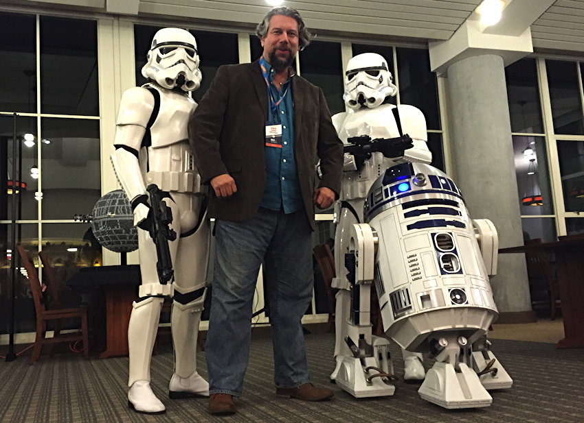 dave taylor star wars storm troopers r2d2 lucasfilm