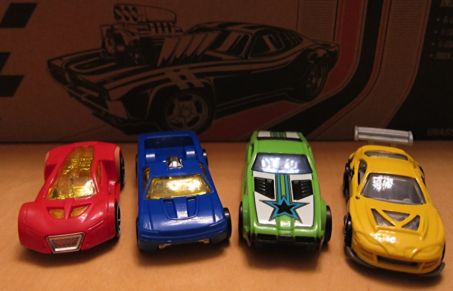 The Speedometry Hot Wheels Car Lineup