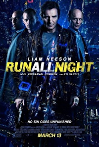 run all night one sheet poster