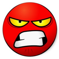 super angry emoji emoticon
