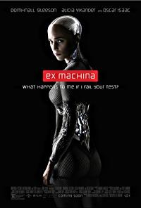 ex machina movie poster one sheet