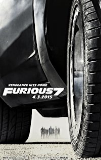 furious 7 one sheet movie poster