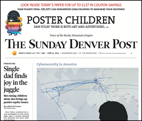 denver post sunday edition front page