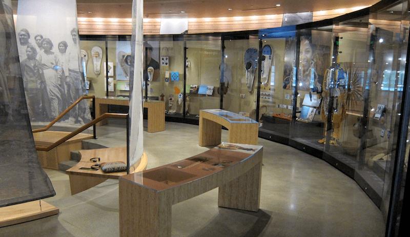 native american exhibit, nhmu