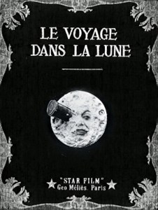 history of sci-fi film cinema futurism a trip to the moon movie poster one sheet 1902