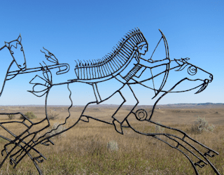 visit to little bighorn battlefield custer sitting bull national monument montana