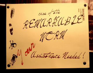 exhibition of sherlock holmes denver museum of nature and science: case remarkable worm