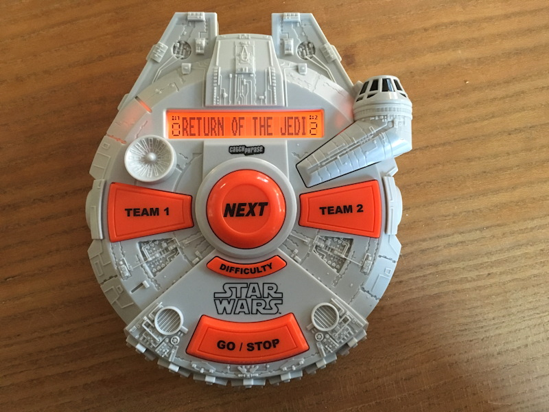 electronic catch phrase star wars edition from hasbro