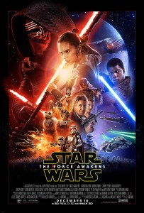 star wars VII the force awakens theatrical movie poster one sheet