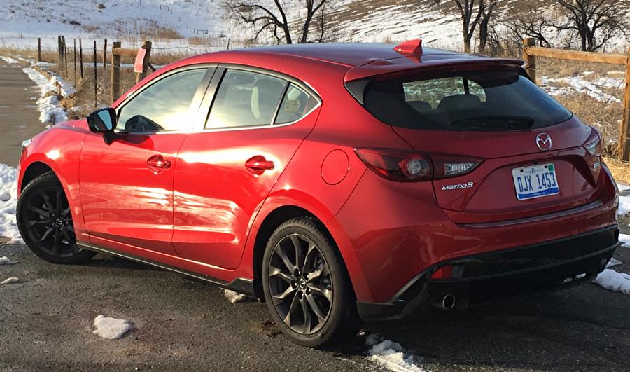 2016 mazda 3 sport GT
