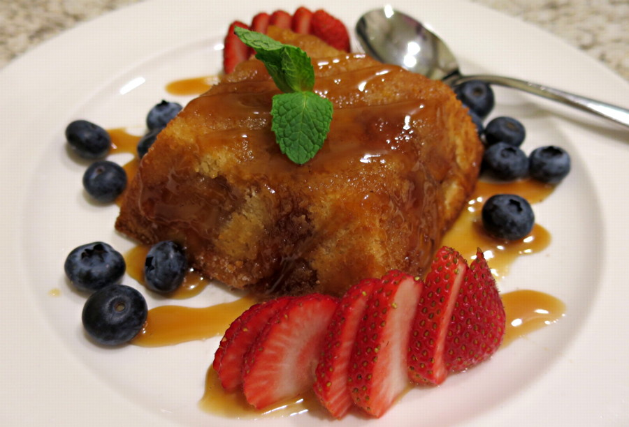 peach upside down cake, embassy suites room service, denver