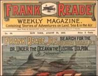 science fiction history retro frank reade public library