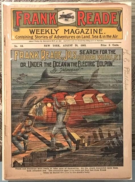 frank reade weekly newspaper magazine 1900