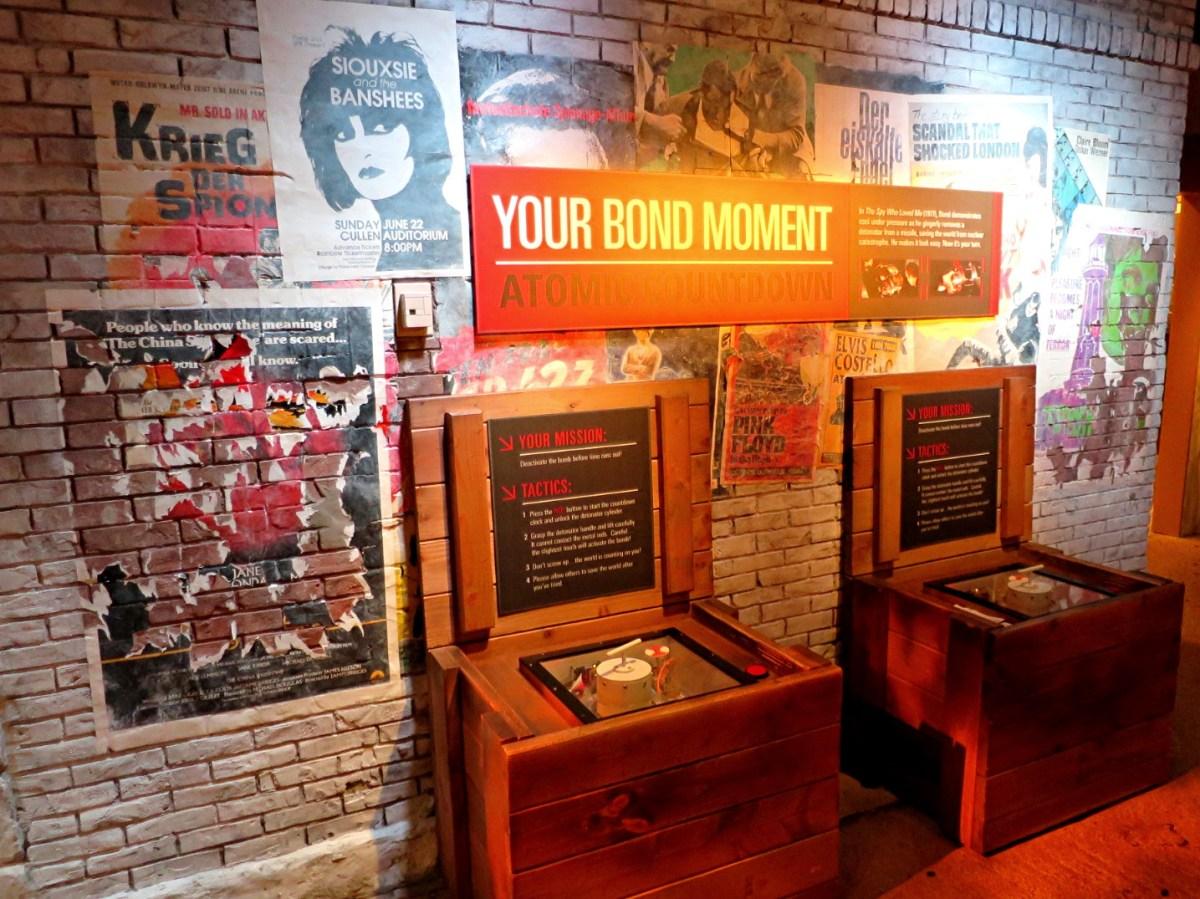 your bond moment display