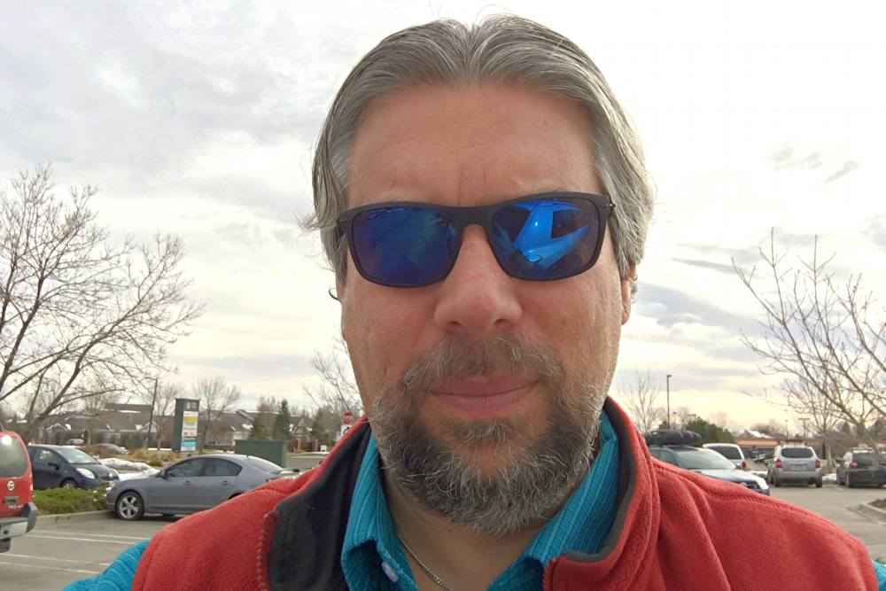 dave taylor author wearing aspire incognito sunglasses