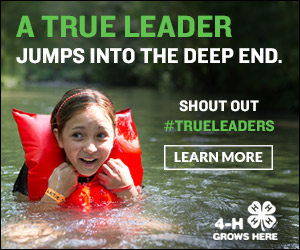 4-h shout out true leader jumps into the deep end #trueleaders