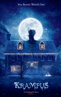 krampus movie poster one sheet
