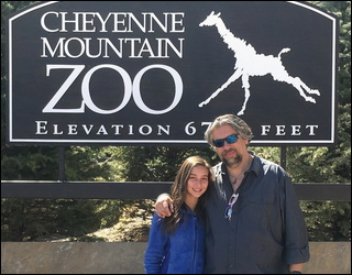 our visit to the cheyenne mountain zoo, colorado springs co