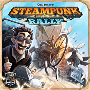 steampunk rally board dice game review