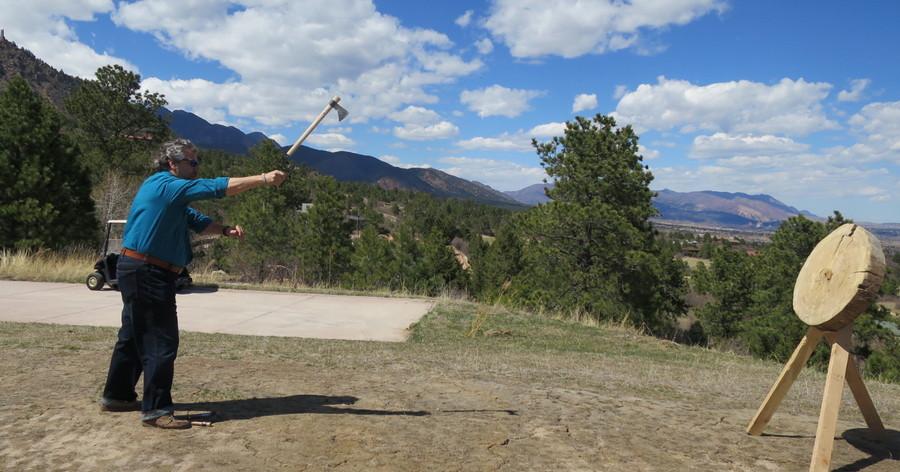 dave taylor throwing tomahawk broadmoor