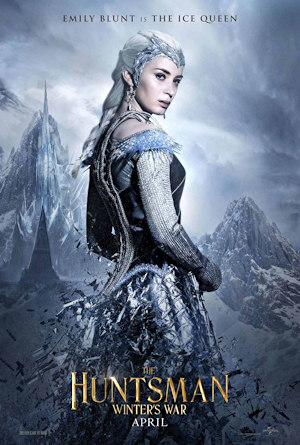 the huntsman winters war one sheet movie poster