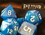 easy roller dice d&d dice sets metal gunmetal copper brass