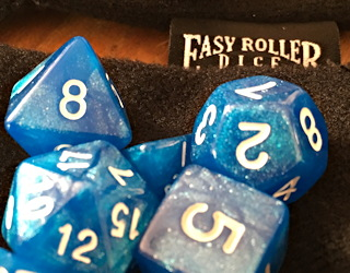 easy roller dice d&d dice sets metal gunmetal copper brass