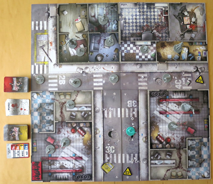 zombicide season 1 board set up
