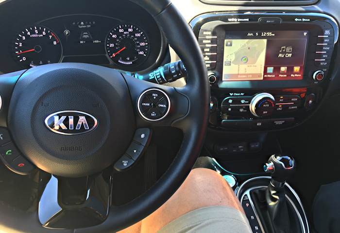 2016 kia soul, dashboard interior