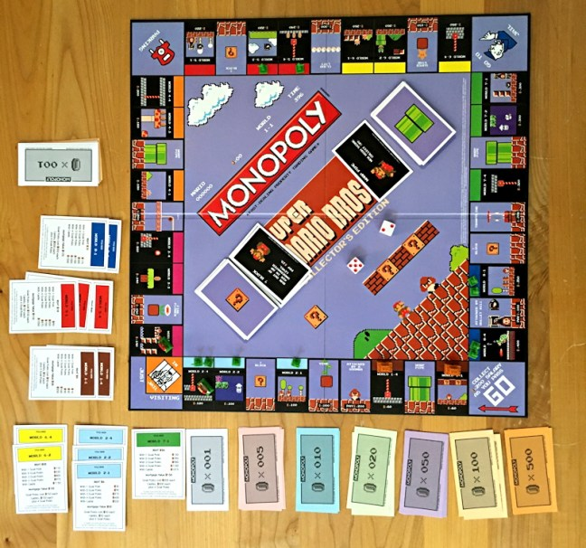 super mario bros monopoly by usaopoly review board