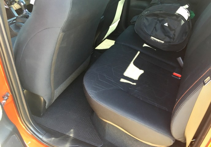 not much legroom, 2016 toyota tacoma extra cab back seat