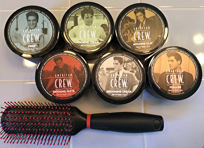 american crew hair products pucks elvis presley