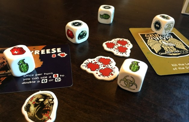dice rolled, bang walking dead