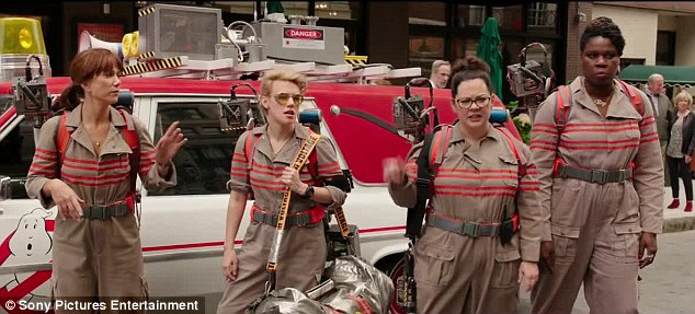 Ghostbusters 2016 publicity still photo